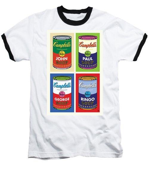 Beatles Soup Baseball T-Shirt