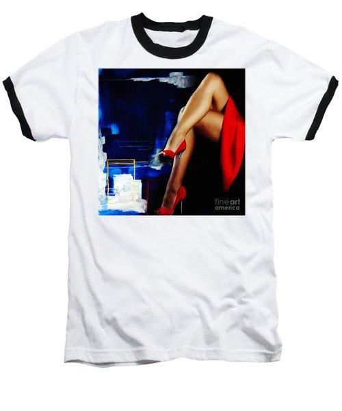 Beautiful Legs 02  Baseball T-Shirt