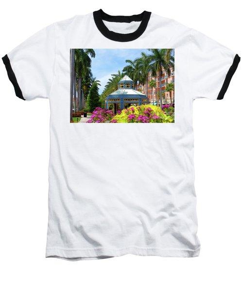 Beautiful Mizner Park In Boca Raton, Florida. #4 Baseball T-Shirt