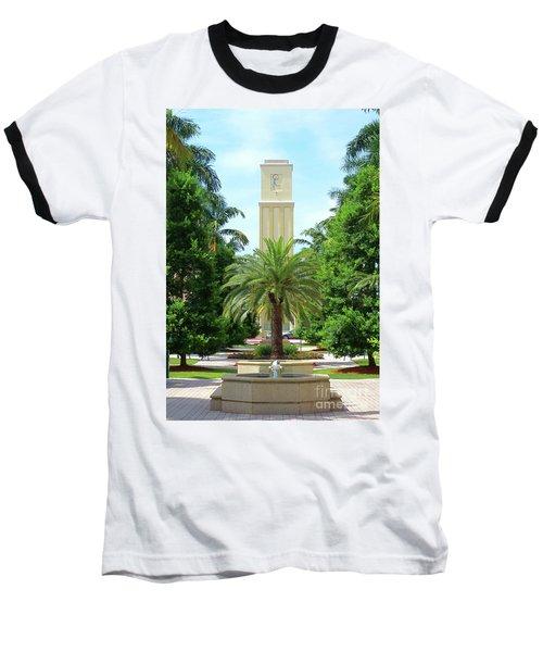 Beautiful Mizner Park In Boca Raton, Florida. #5 Baseball T-Shirt