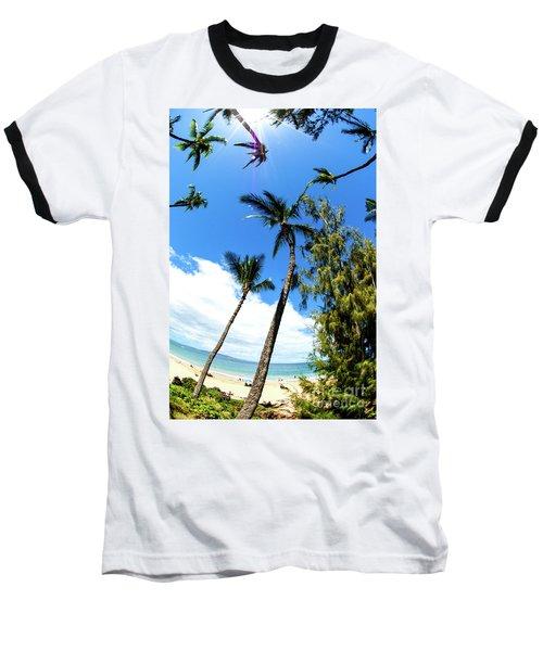 Baseball T-Shirt featuring the photograph Beautiful Palms Of Maui 17 by Micah May