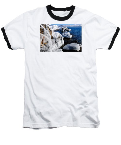 Beautiful Superior Ice Baseball T-Shirt by Sandra Updyke