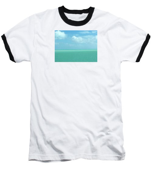 Baseball T-Shirt featuring the photograph Beautiful Waters by Robin Regan