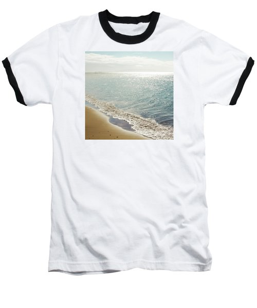 Baseball T-Shirt featuring the photograph Beauty And The Beach by Sharon Mau