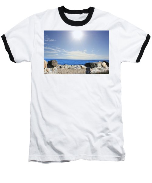 Beauty In The Distance Baseball T-Shirt
