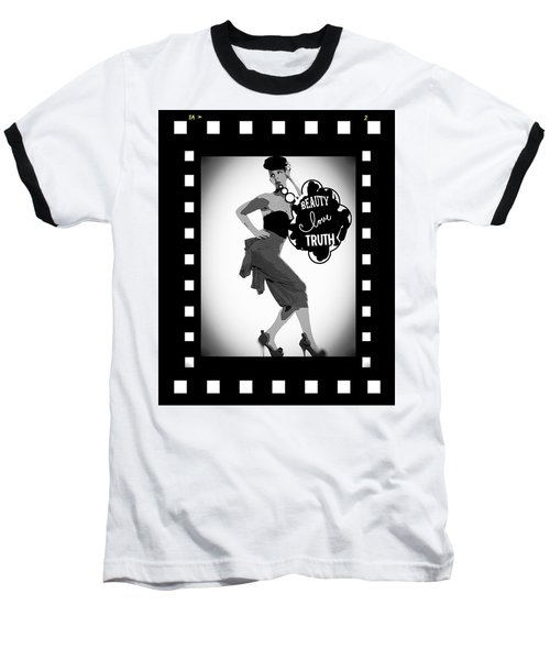 Beauty Love Truth Baseball T-Shirt