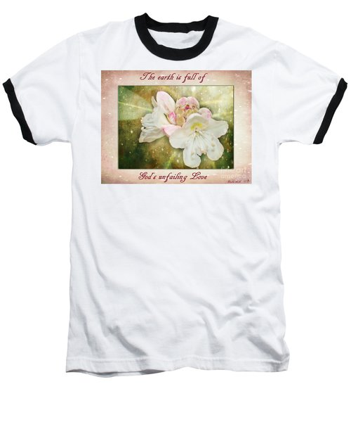 Beauty Of A Rhododendron Baseball T-Shirt