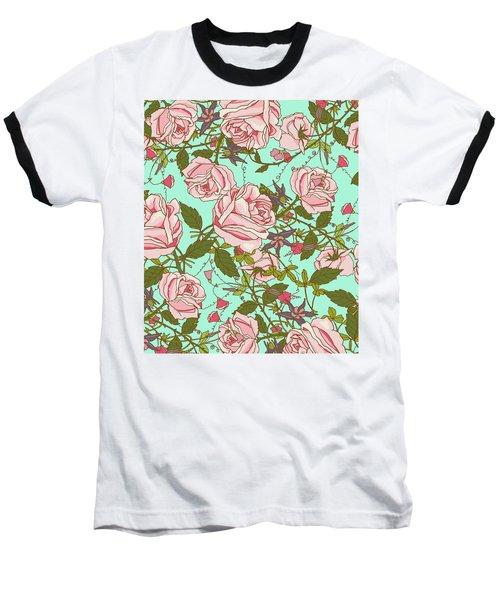 Beauty Baseball T-Shirt by Uma Gokhale