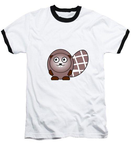 Beaver - Animals - Art For Kids Baseball T-Shirt