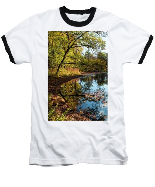 Beaver's Pond Baseball T-Shirt by Iris Greenwell