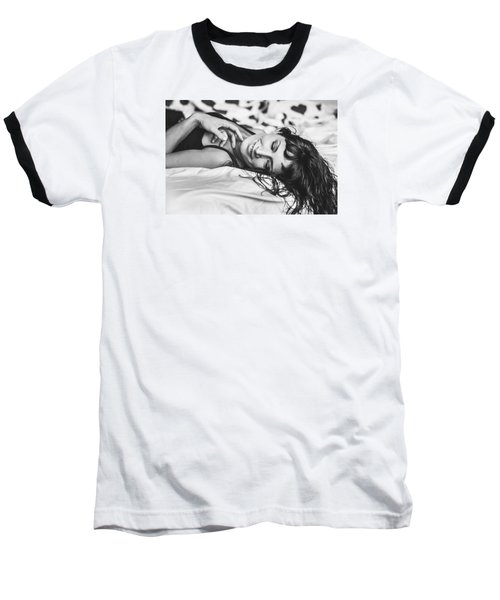 Bed Portraits Baseball T-Shirt