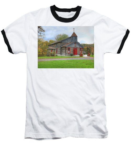 Bedford Village Church Baseball T-Shirt