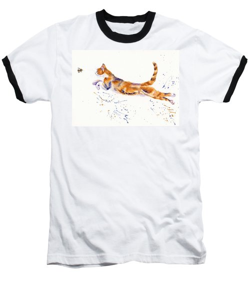 Bee Airborne Baseball T-Shirt