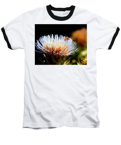 Bee And Artichoke Baseball T-Shirt