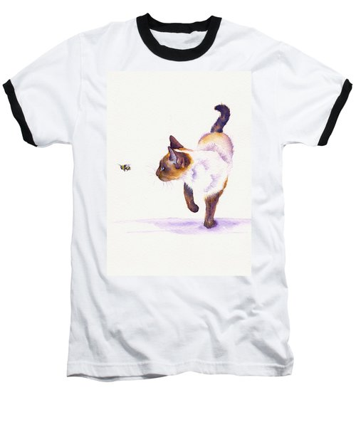 Bee Free Baseball T-Shirt