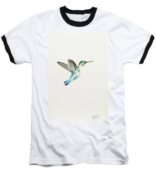 Bee Hummingbird Baseball T-Shirt
