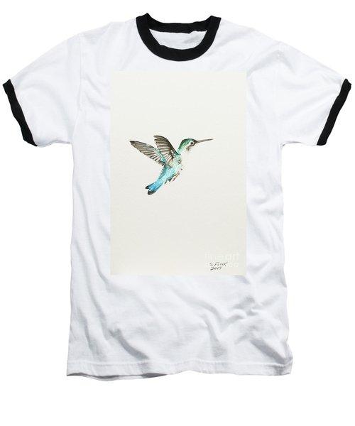 Bee Hummingbird Baseball T-Shirt
