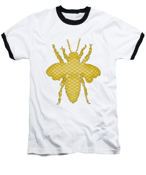 Bee Baseball T-Shirt by Mordax Furittus