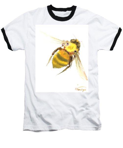 Bee Baseball T-Shirt by Suren Nersisyan