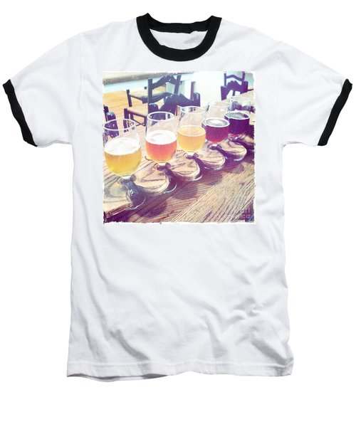 Beer Flight Baseball T-Shirt