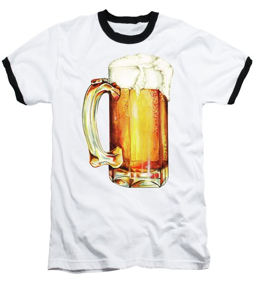 Beer Pattern Baseball T-Shirt