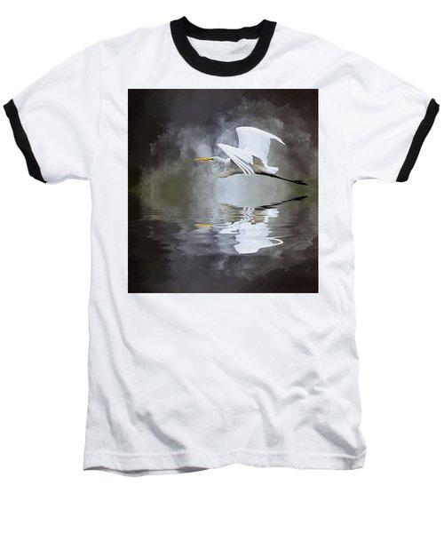 Before The Storm Baseball T-Shirt by Cyndy Doty