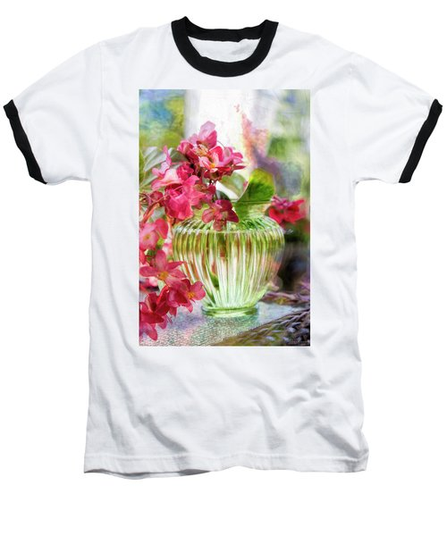 Begonia Art Baseball T-Shirt