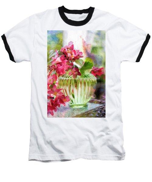 Begonia Art Baseball T-Shirt