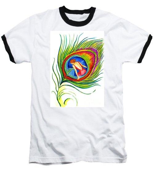 Behind Blue Eyes Baseball T-Shirt
