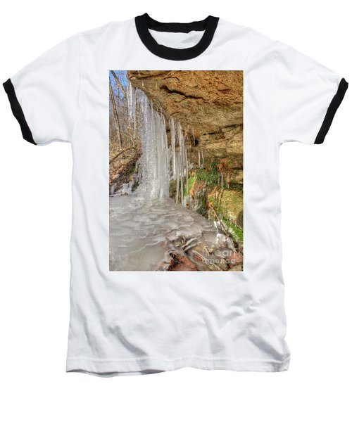 Behind The Ice Baseball T-Shirt