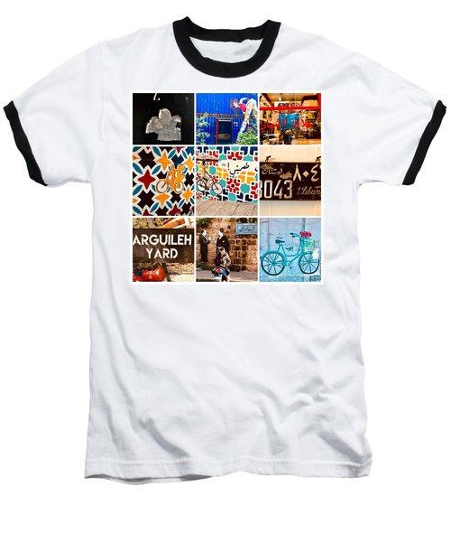 Beirut Colorful Life Baseball T-Shirt