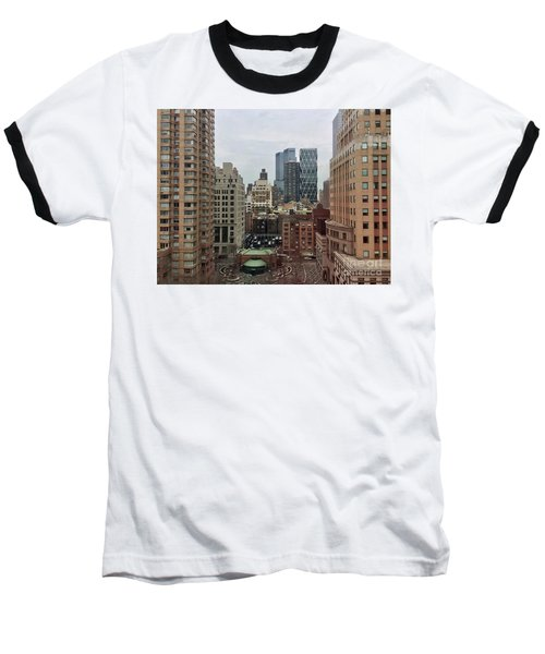 Belvedere Hotel New York City  Room With A View Baseball T-Shirt