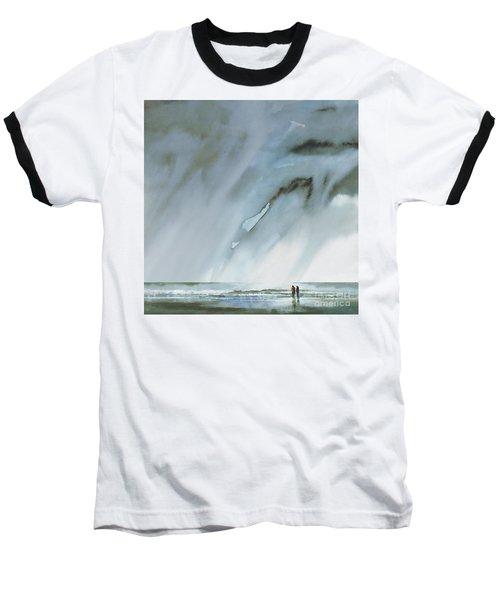 Beneath Turbulent Skies Baseball T-Shirt