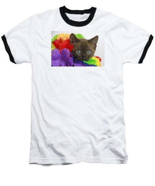 Bengal Colors Baseball T-Shirt by Shoal Hollingsworth