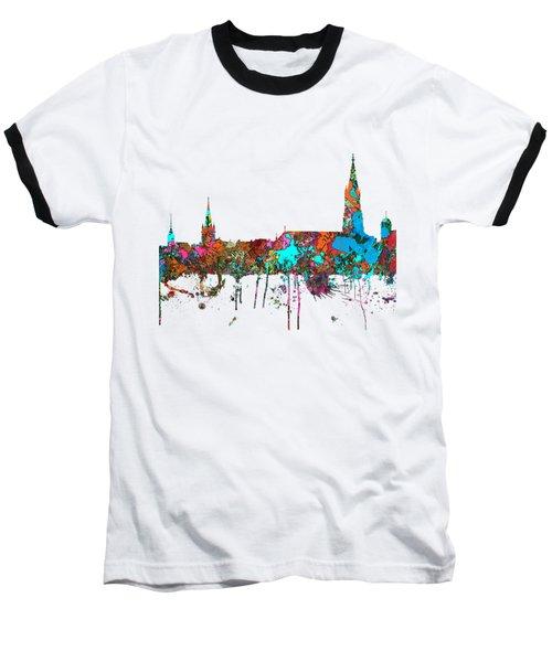 Berne Switzerland Skyline Baseball T-Shirt