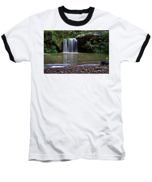 Baseball T-Shirt featuring the photograph Berowra Waterfall by Werner Padarin