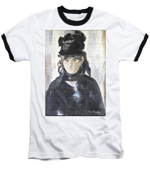 Berthe Morisot Baseball T-Shirt by Stan Tenney