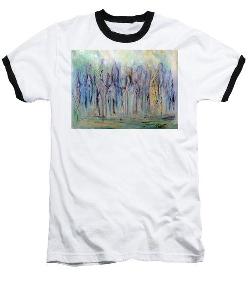 Between Horse And Men Baseball T-Shirt by Roberta Rotunda
