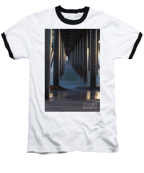 Between The Pillars  Baseball T-Shirt