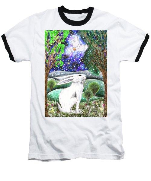 Between The Trees Baseball T-Shirt