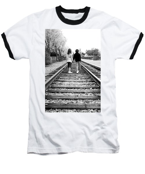 Baseball T-Shirt featuring the photograph Bff's by Greg Fortier