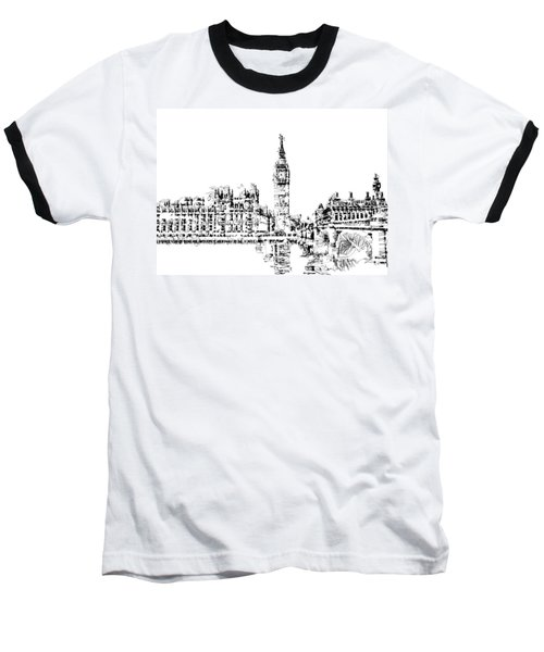 Big Ben Baseball T-Shirt by ISAW Gallery