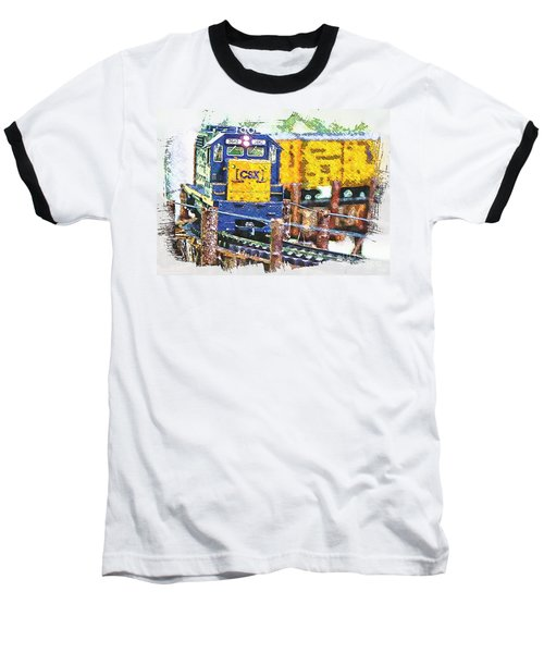 Baseball T-Shirt featuring the photograph Big Bend by Robert Pearson