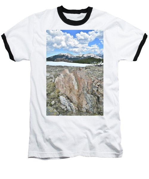 Big Horn Pass In Wyoming Baseball T-Shirt
