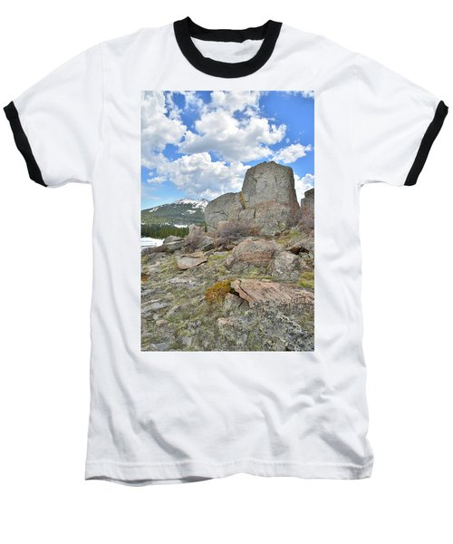 Big Horn Pass Rock Croppings Baseball T-Shirt