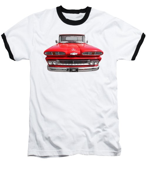 Baseball T-Shirt featuring the photograph Big Red - 1960 Chevy by Gill Billington