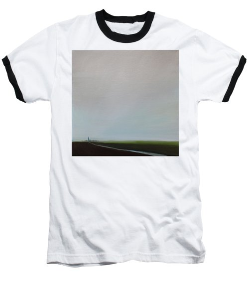 Baseball T-Shirt featuring the painting Big Sky by Tone Aanderaa