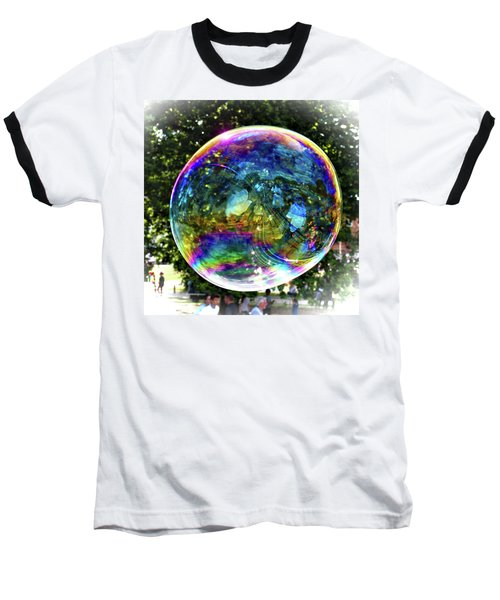 Big Soap Bubble Baseball T-Shirt