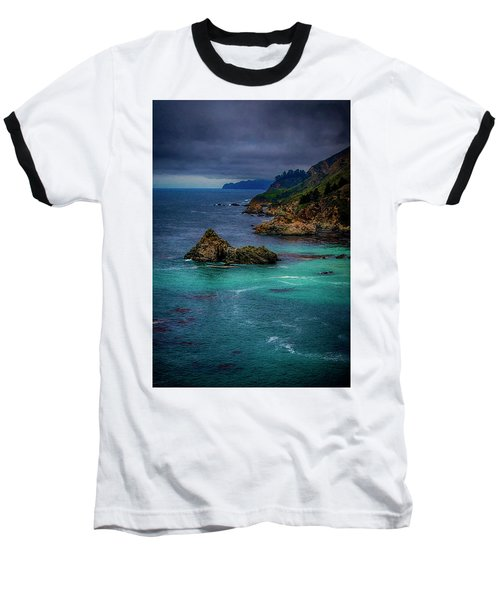 Big Sur Coastline Baseball T-Shirt