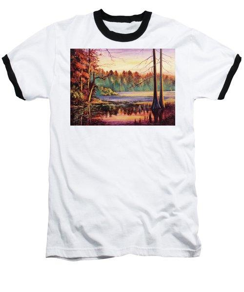 Big Thicket Swamp Baseball T-Shirt